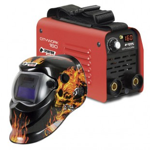 INVERTER STAYER CITYWORK 160 + PANTALLA FIRE