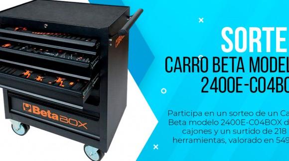 Sorteo de un Carro Beta modelo 2400E-C04BOX de 6 cajones